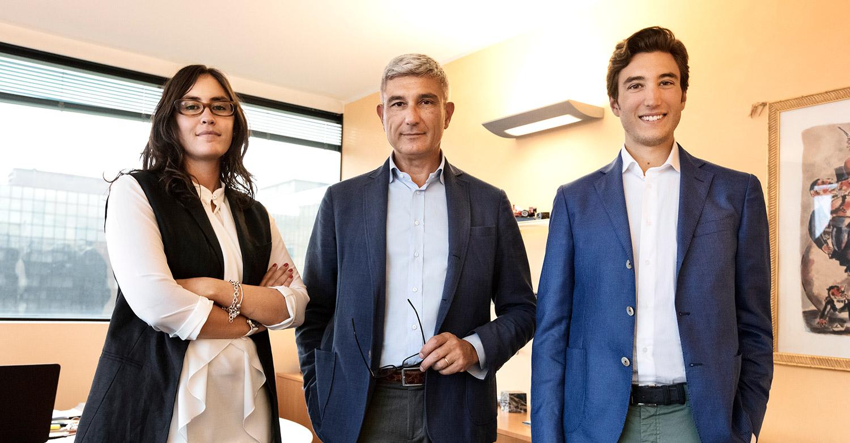 Dott. Sergio Beccani, Dott. Tommaso Beccani, Dott.ssa Diletta Vozella
